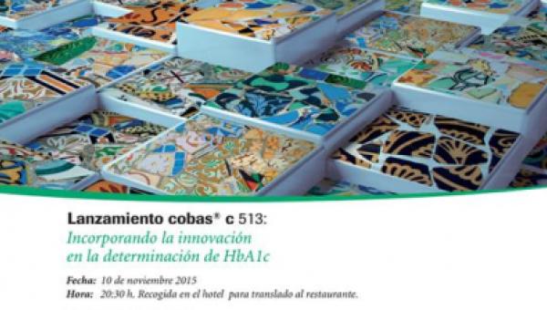 Jornada Lanzamiento cobas c 513: Incorporando la innovación en la determinación de HbA1c